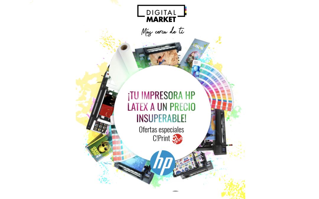 ¡Tu impresora HP Latex a un precio insuperable!