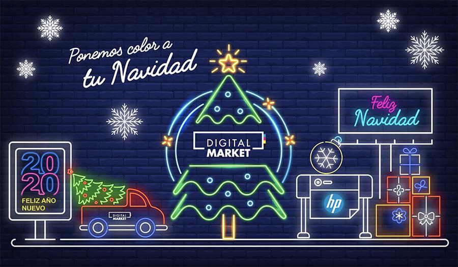 Digital Market pone color a tu Navidad