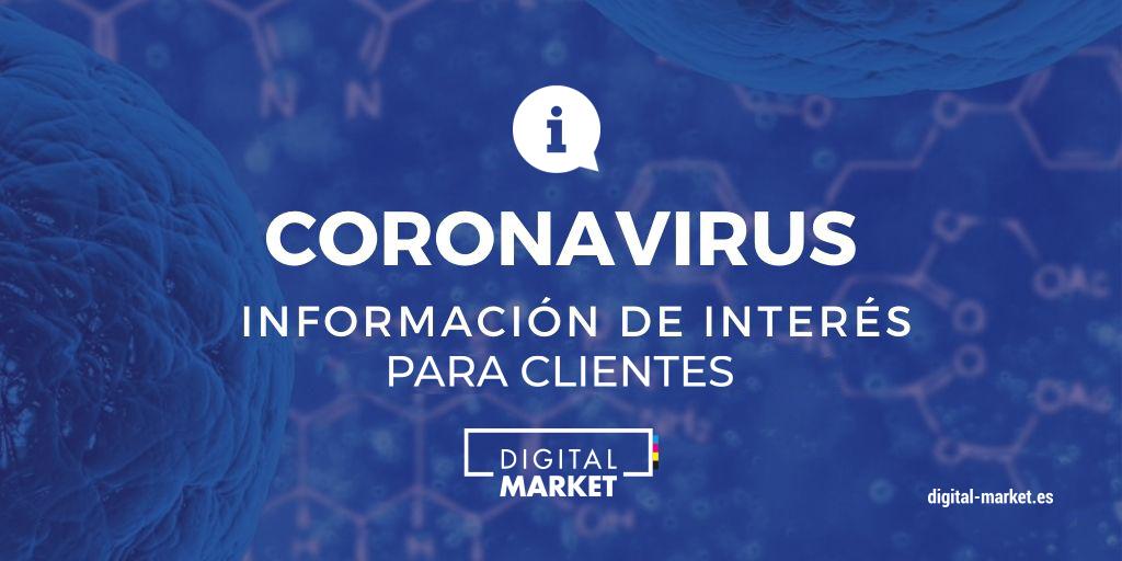 COMUNICADO INFORMATIVO Coronavirus