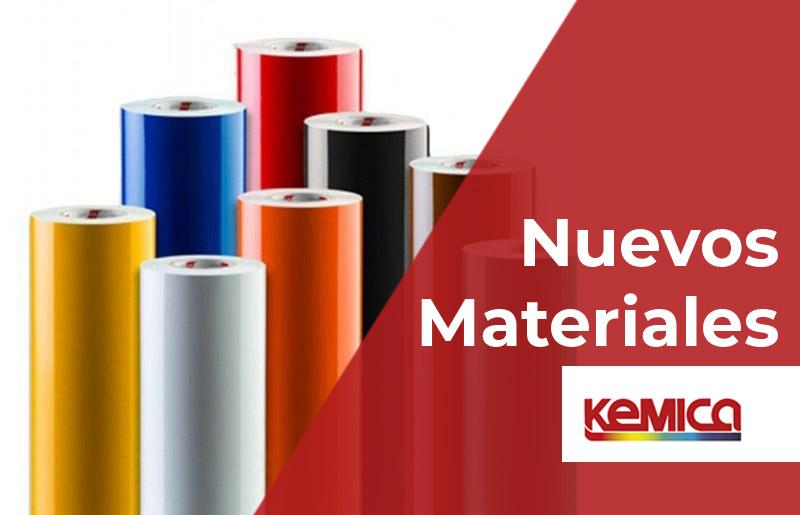 NUEVOS materiales KEMICA. Antibacterianos y antideslizantes.
