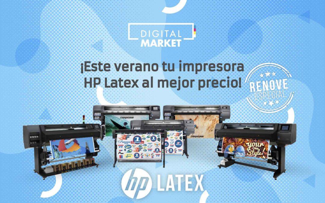 Este verano tu impresora HP Latex al mejor precio