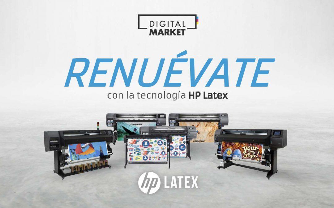 Renuévate con la tecnología HP Latex